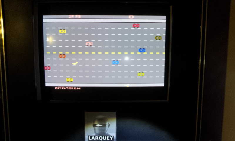 Larquey: Activision Classics: Freeway (Playstation 1 Emulated) 29 points on 2018-02-09 14:03:19