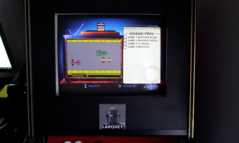 Activision Classics: Grand Prix [Game 3] time of 0:02:32.4
