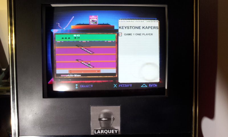 Larquey: Activision Classics: Keystone Kapers [Game 1] (Playstation 1 Emulated) 13,550 points on 2018-05-20 10:19:35