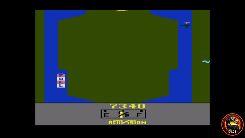 omargeddon: Activision Classics: River Raid [Game 1] (Playstation 1 Emulated) 7,340 points on 2020-10-25 01:23:33