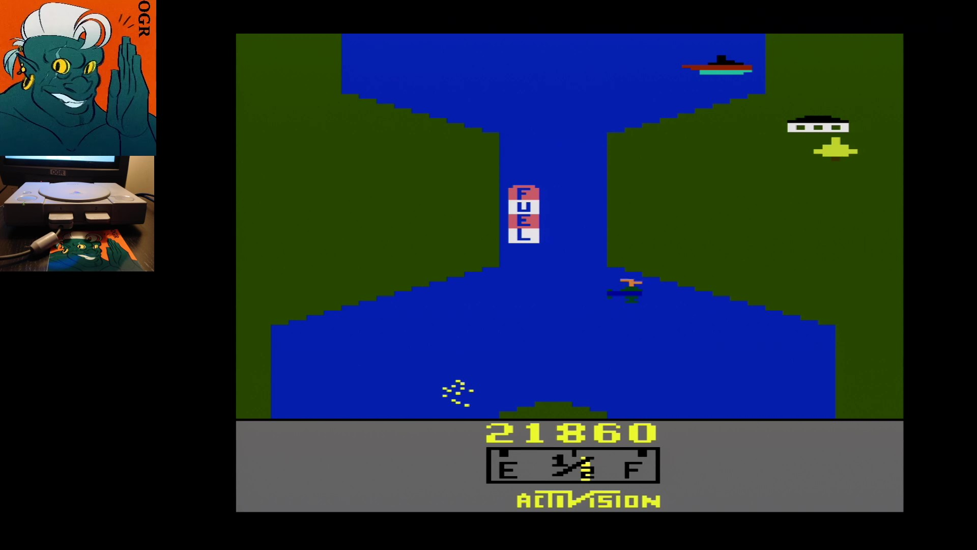 Activision Classics: River Raid [Game 1] 21,860 points