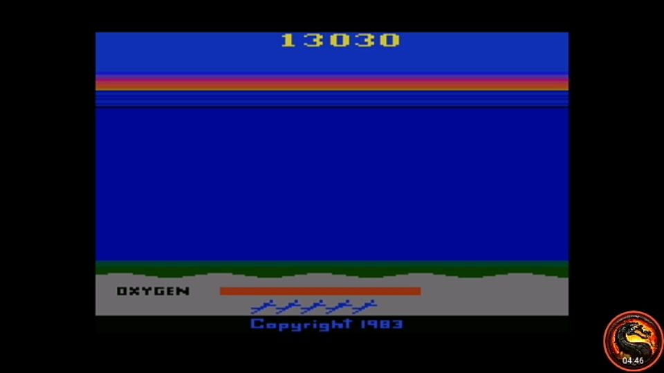 omargeddon: Activision Classics: Sea Quest [Game 1] (Playstation 1 Emulated) 13,030 points on 2020-10-25 10:21:36