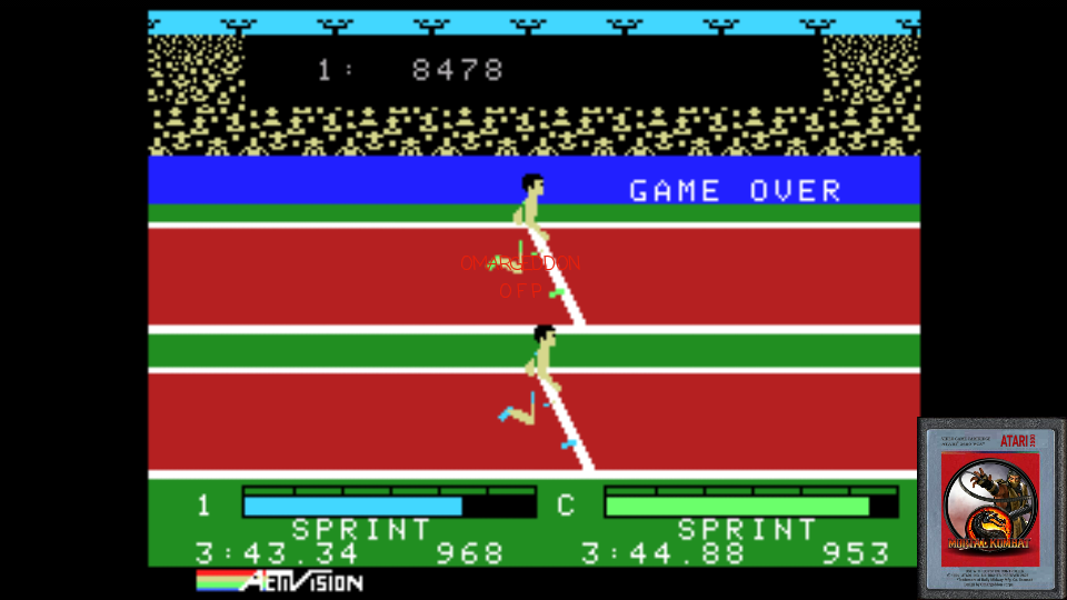 omargeddon: Activision Decathlon (Colecovision Emulated) 8,478 points on 2017-01-22 00:44:40