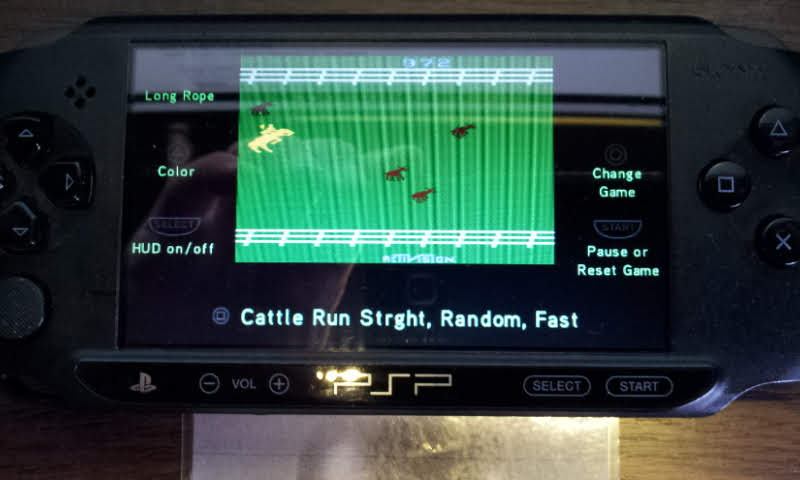 Larquey: Activision Hits Remixed: Stampede: Game 7B (PSP) 972 points on 2018-06-09 12:17:34
