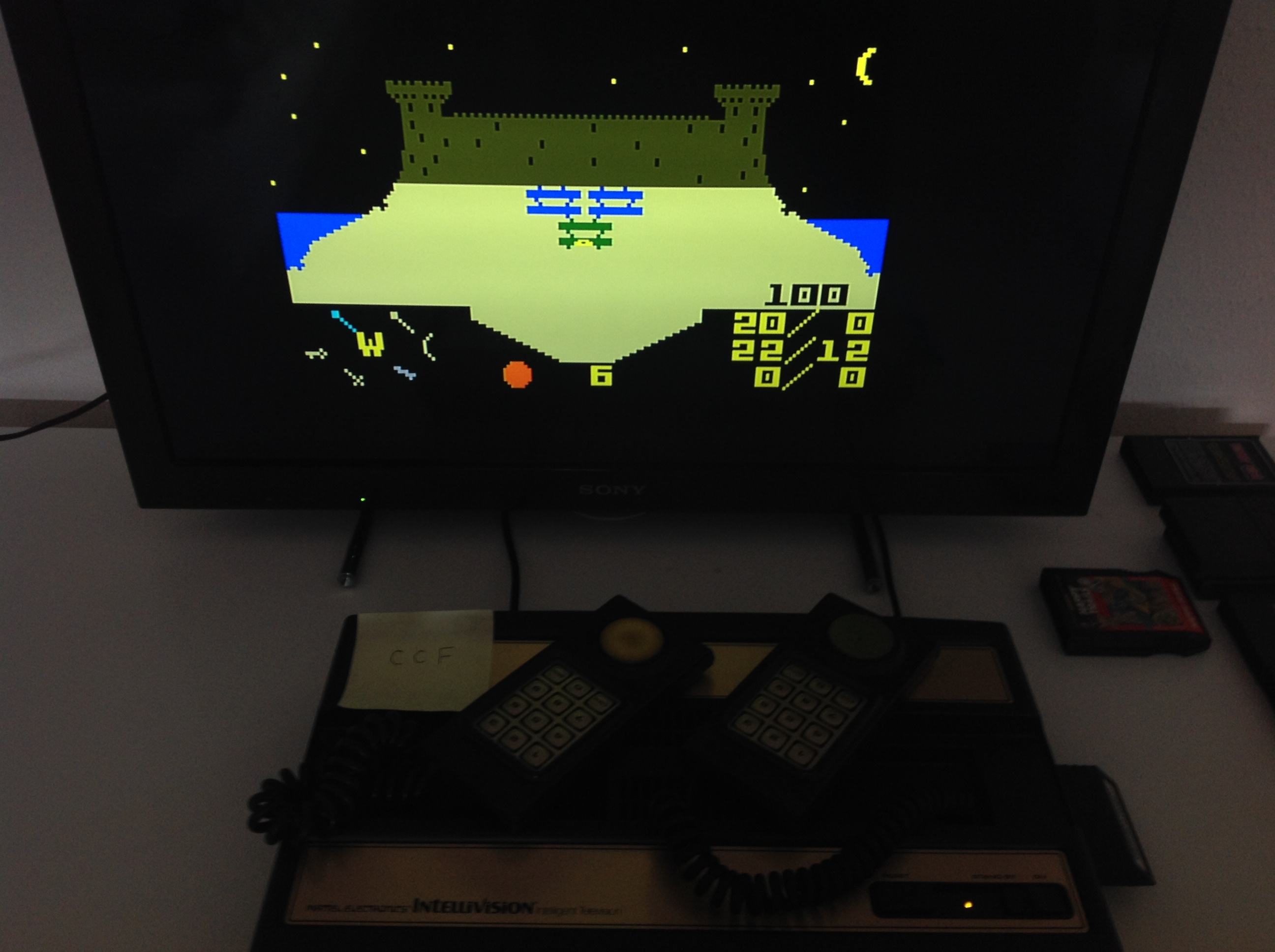 CoCoForest: Advanced Dungeons & Dragons: Treasure Of Tarmin: Game 2 [Easy] (Intellivision) 100 points on 2018-08-20 03:16:50