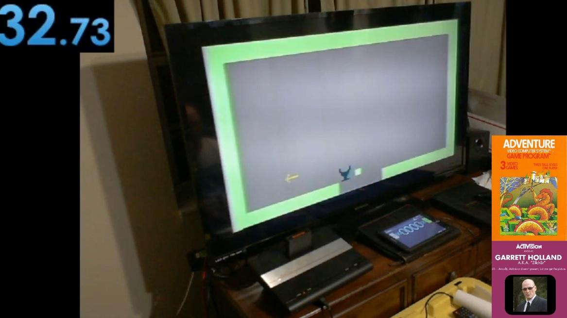 ZilchSr: Adventure [Speed Run] (Atari 2600 Novice/B) 0:00:32 points on 2020-05-07 01:30:41