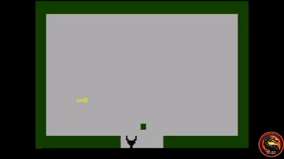 omargeddon: Adventure [Speed Run] (Atari 2600 Emulated Novice/B Mode) 0:01:02 points on 2020-08-08 18:38:39