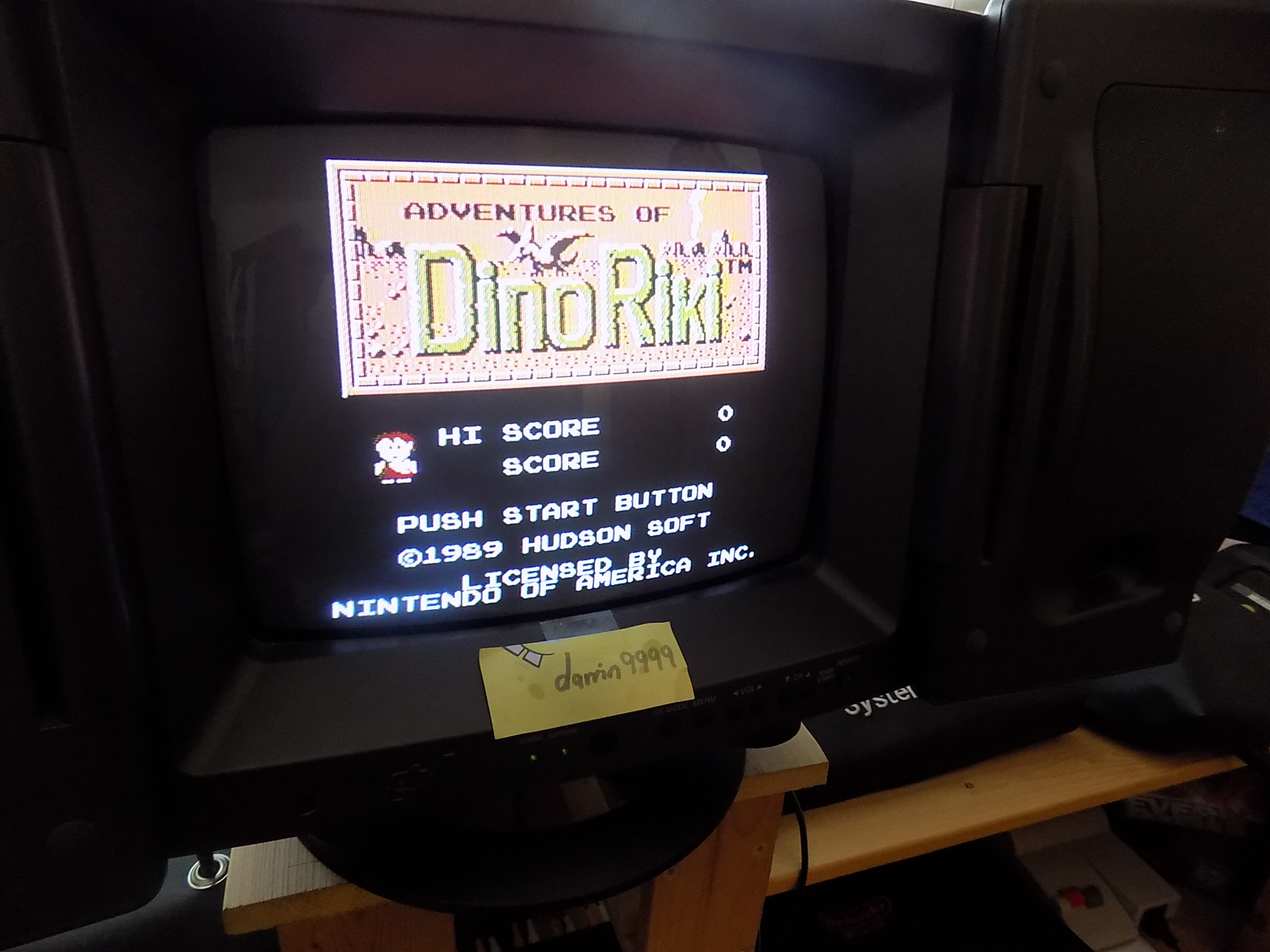 darrin9999: Adventures of DinoRiki (NES/Famicom) 47,090 points on 2018-01-20 11:47:06