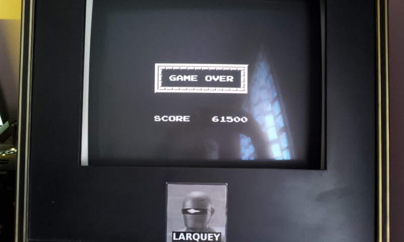 Larquey: Adventures of DinoRiki (NES/Famicom Emulated) 61,500 points on 2018-06-03 09:02:19