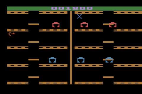 GAMES: Adventures of Tron (Atari 2600 Novice/B) 1,800 points on 2019-12-31 08:41:30