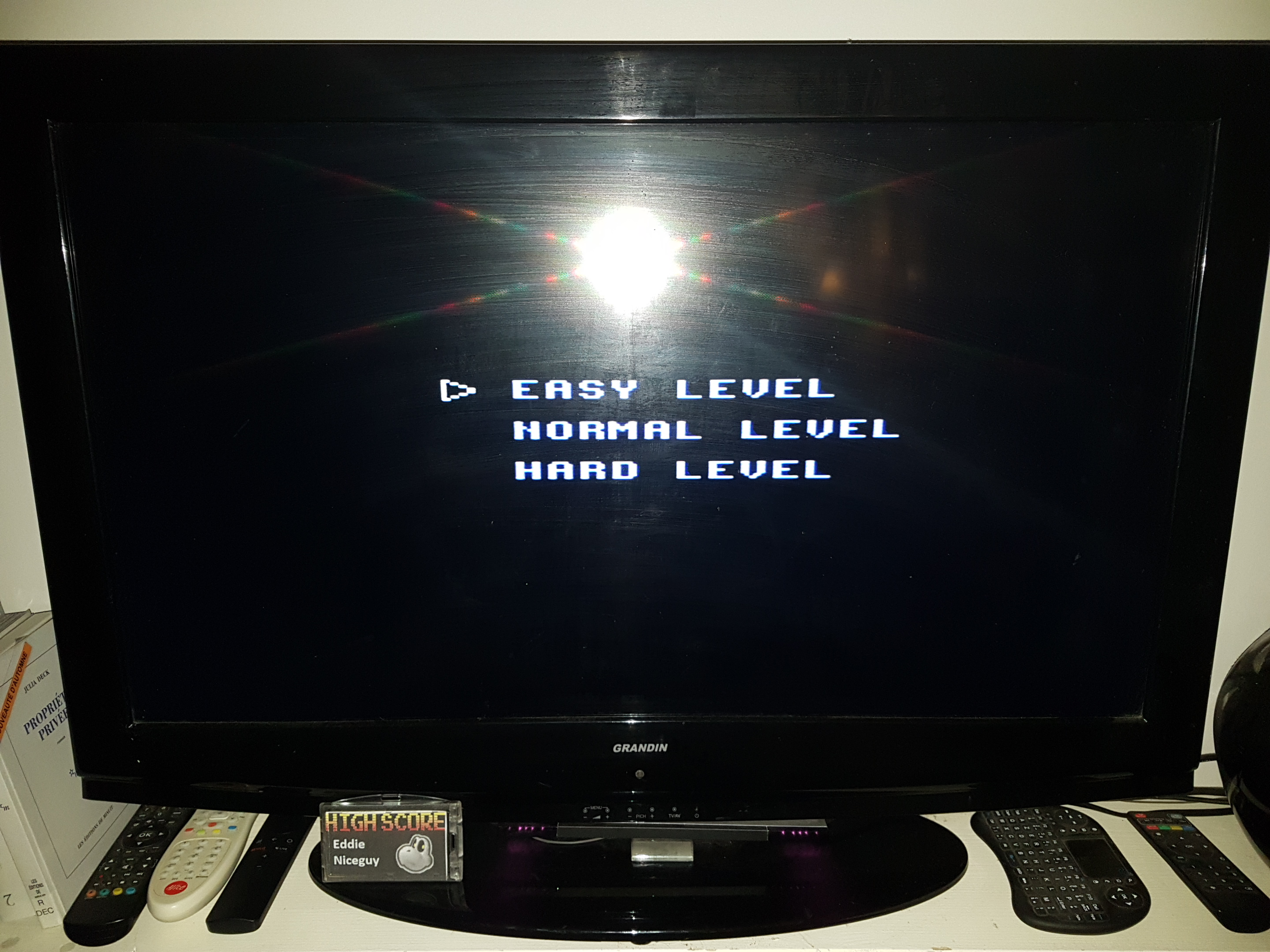 EddieNiceguy: Aerial Assault [Easy] (Sega Master System Emulated) 62,370 points on 2019-10-11 15:03:26
