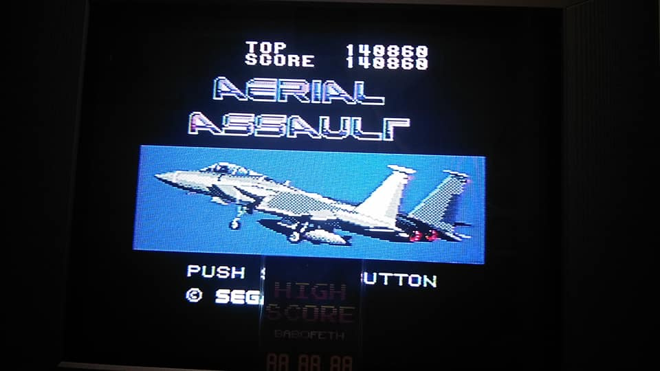 Aerial Assault [Easy] 140,860 points