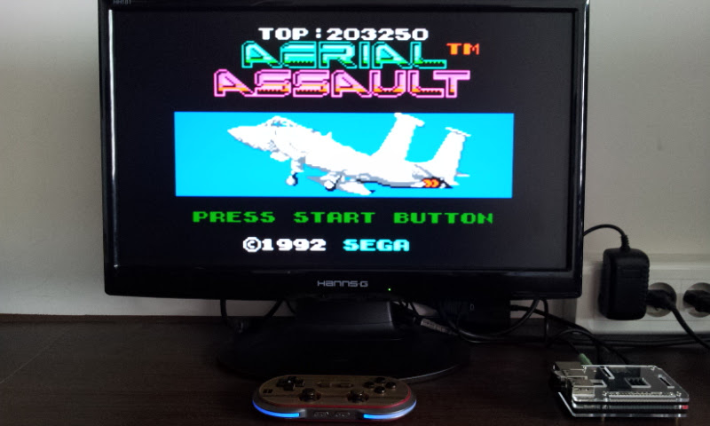 Larquey: Aerial Assault (Sega Game Gear Emulated) 203,250 points on 2017-08-14 09:59:32
