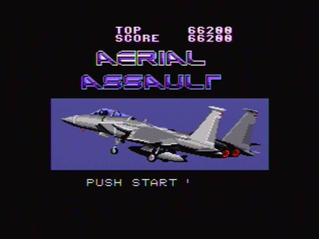 Aerial Assault 66,200 points