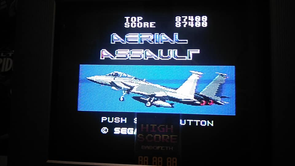 Aerial Assault 87,400 points