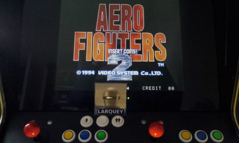 Larquey: Aero Fighters 2 / Sonic Wings 2 (Jamma Pandora