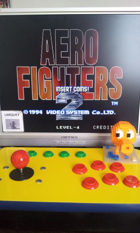 Aero Fighters 2 / Sonic Wings 2 218,600 points