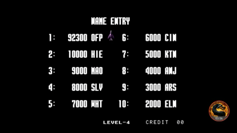 omargeddon: Aero Fighters 2 / Sonic Wings 2 [sonicwi2] (Arcade Emulated / M.A.M.E.) 92,300 points on 2018-07-23 01:03:02