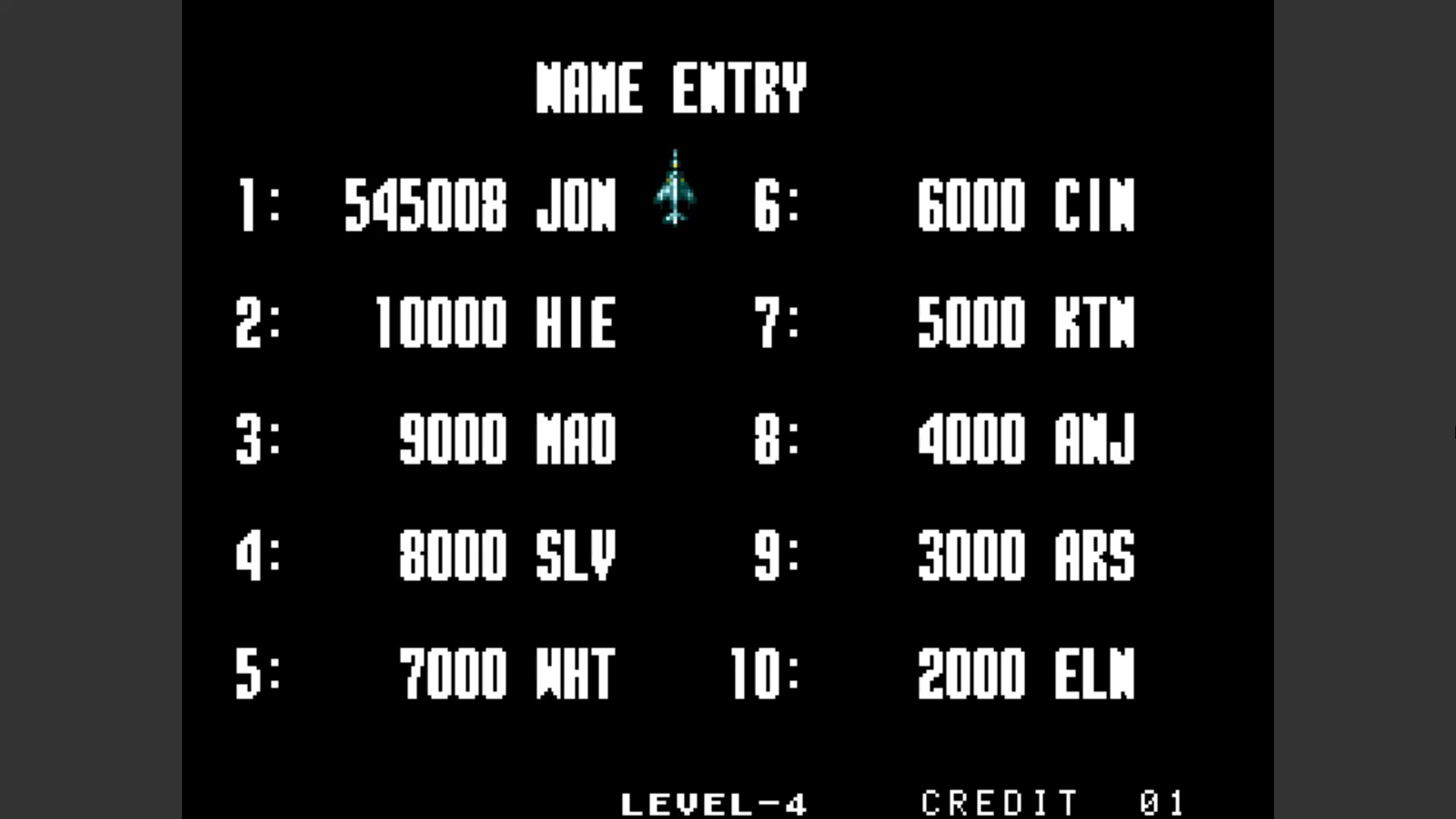 AkinNahtanoj: Aero Fighters 2 / Sonic Wings 2 [sonicwi2] [Continues Allowed] (Arcade Emulated / M.A.M.E.) 545,008 points on 2020-10-08 13:53:59
