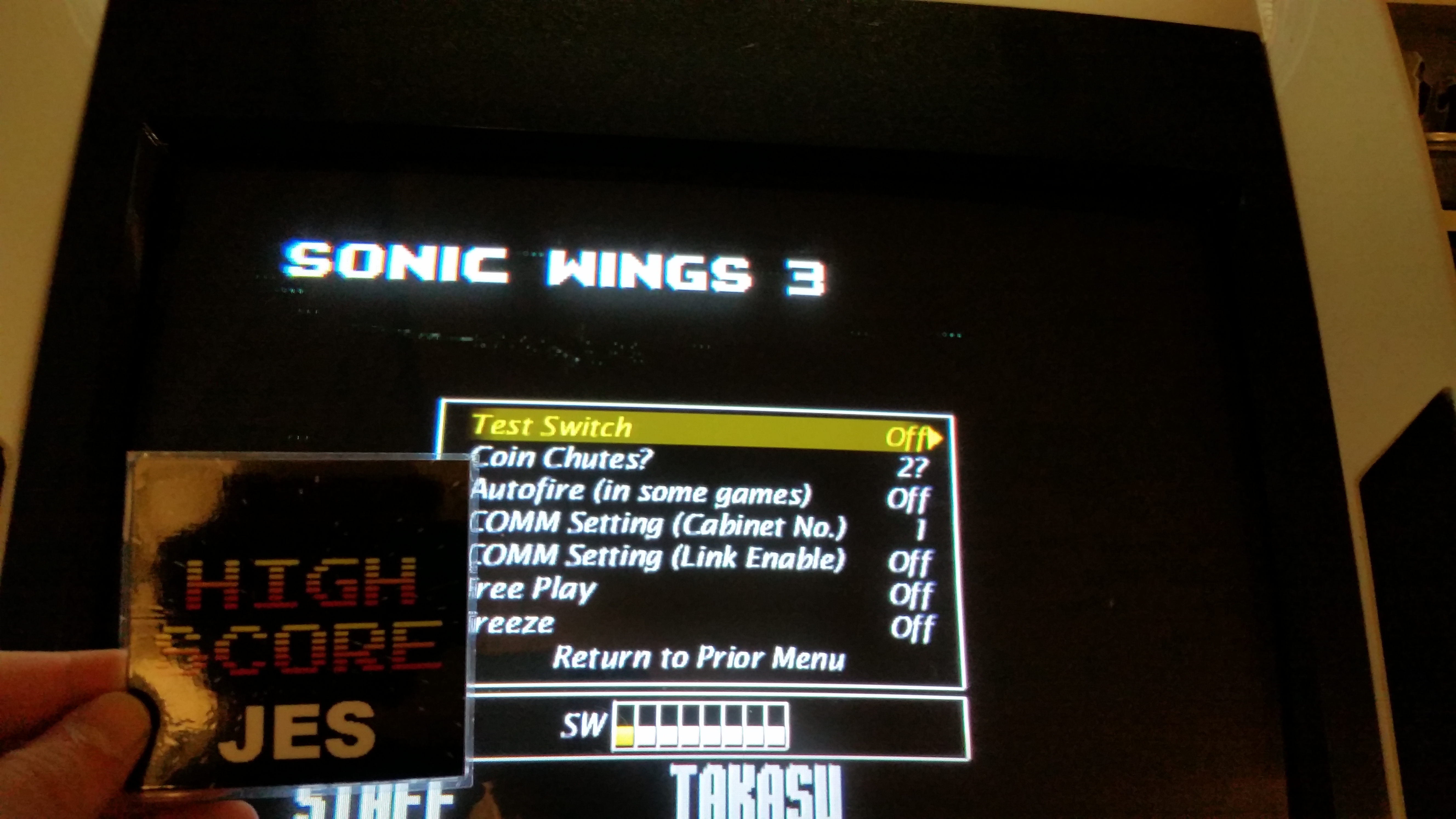 Aero Fighters 3 / Sonic Wings 3  [Arcade] [sonicwi3] 117,400 points