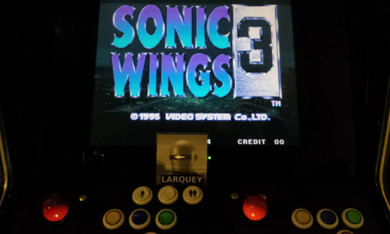 Larquey: Aero Fighters 3 / Sonic Wings 3 (Jamma Pandora