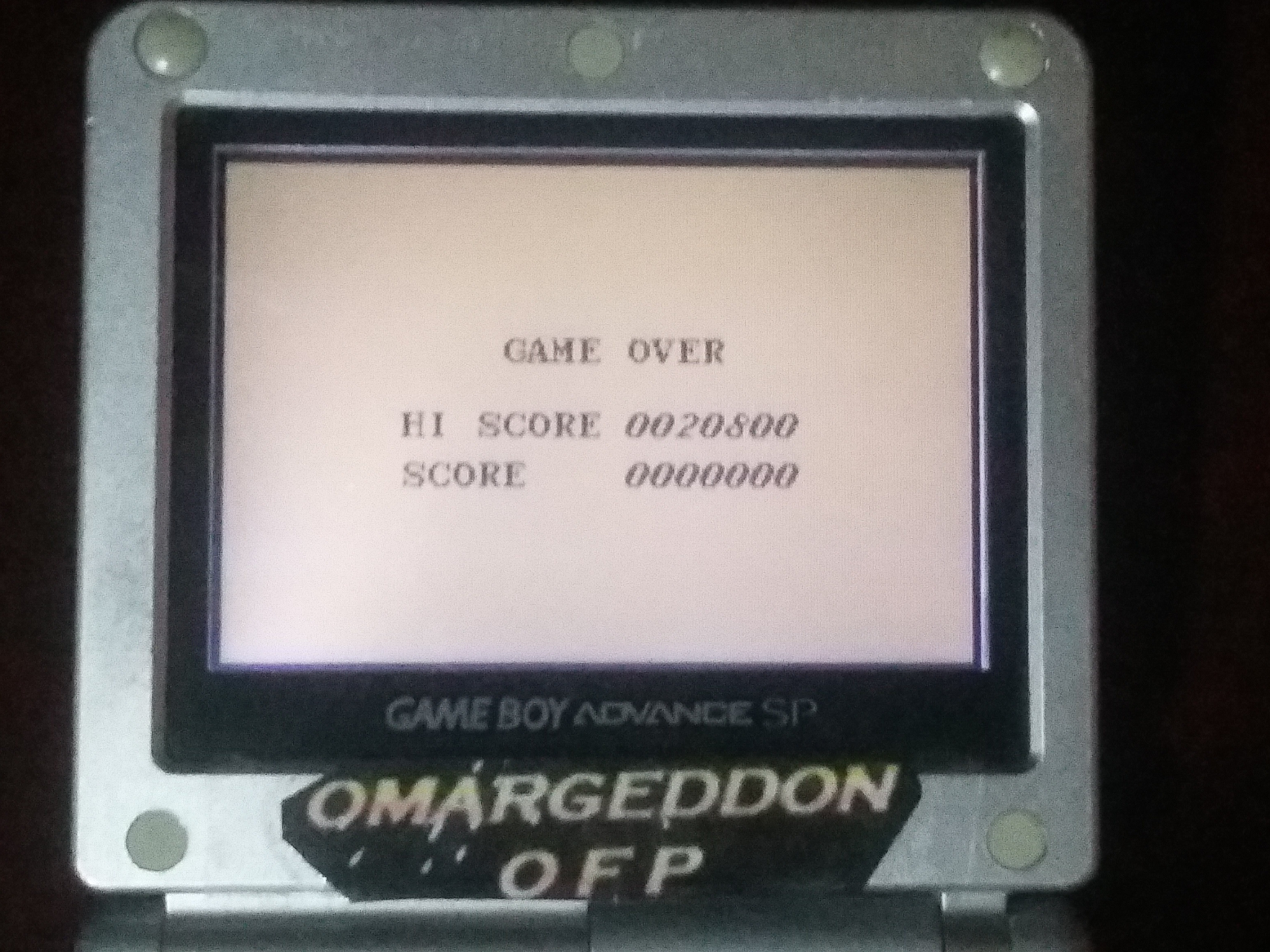 omargeddon: Aero Star [Easy] (Game Boy) 20,800 points on 2018-01-17 13:34:56