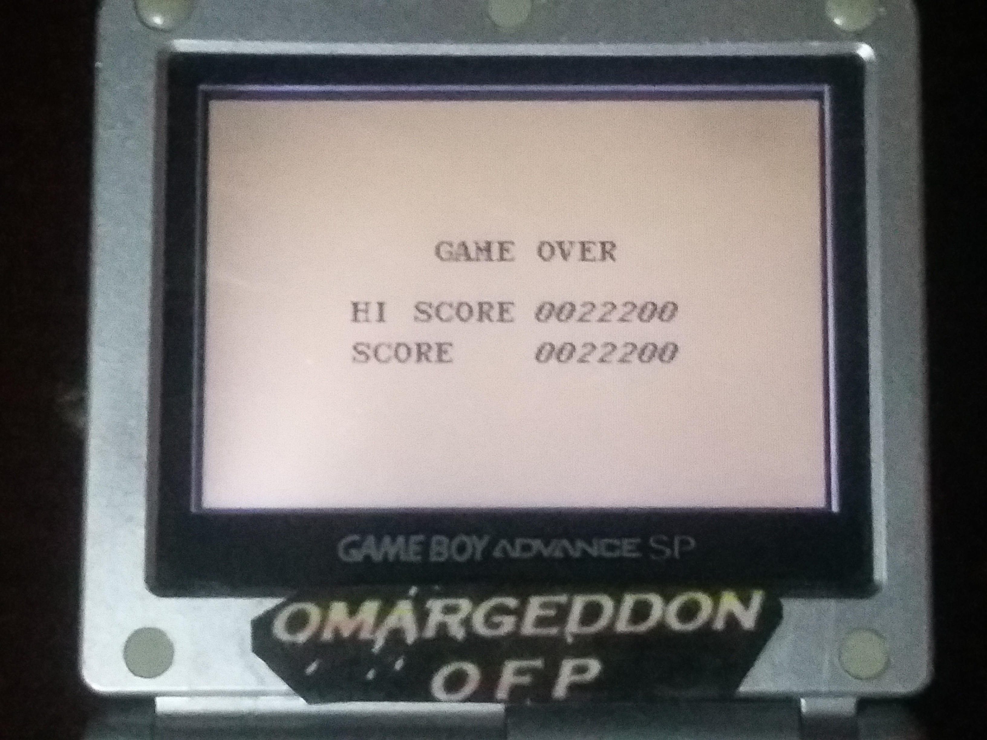 omargeddon: Aero Star [Hard] (Game Boy) 22,200 points on 2018-01-17 14:09:21