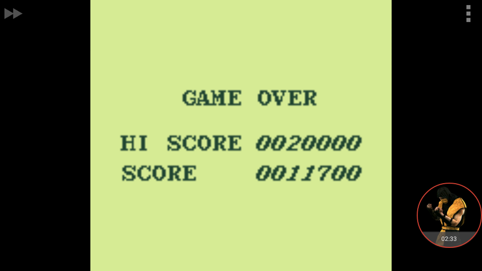 omargeddon: Aero Star [Normal] (Game Boy Emulated) 11,700 points on 2018-01-04 16:19:34
