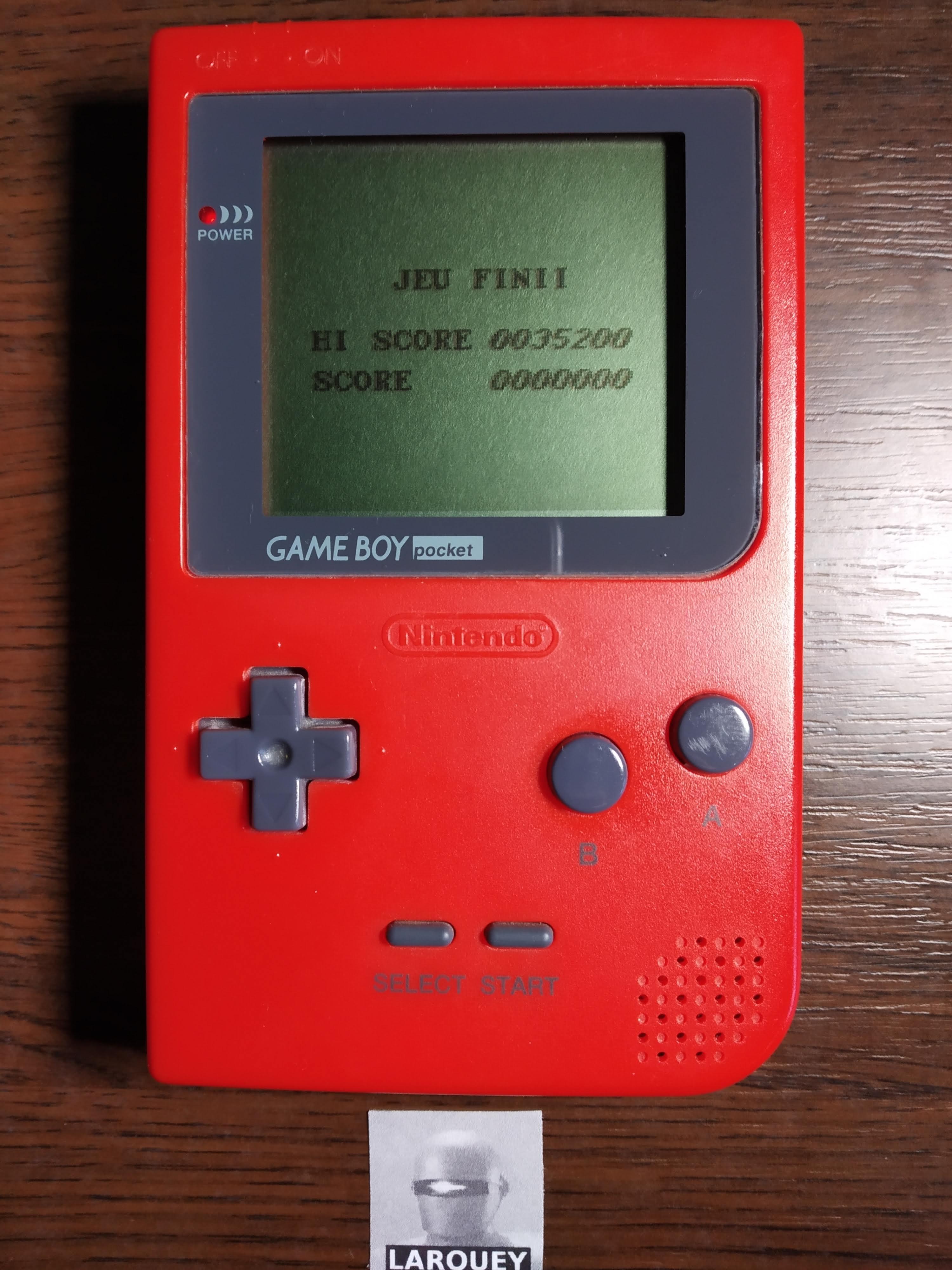 Larquey: Aero Star [Normal] (Game Boy) 35,200 points on 2019-11-23 05:18:22