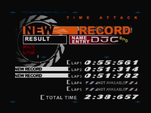 derek: AeroGauge: Time Attack [Bikini Island / 3 laps] (N64) 0:02:38.657 points on 2016-04-18 22:42:43