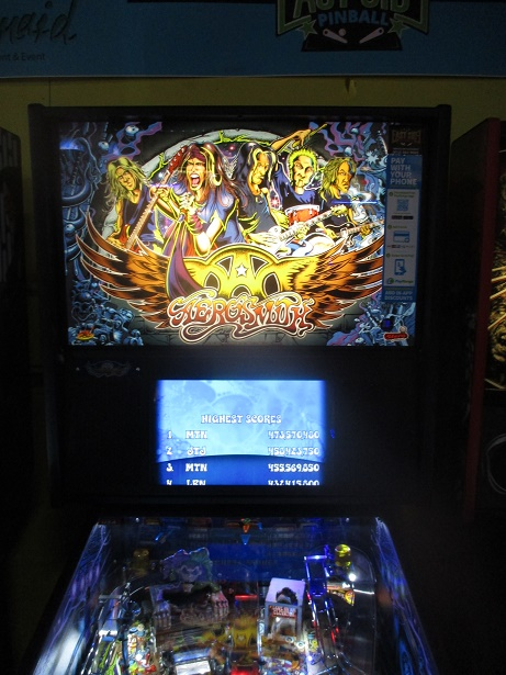 ed1475: Aerosmith (Pinball: 3 Balls) 5,150,870 points on 2017-08-24 19:46:12