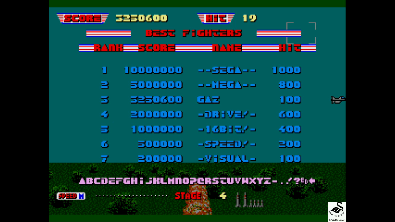 gazzhally: After Burner 2 [Normal] (Sega Genesis / MegaDrive Emulated) 3,250,600 points on 2017-07-03 06:17:40
