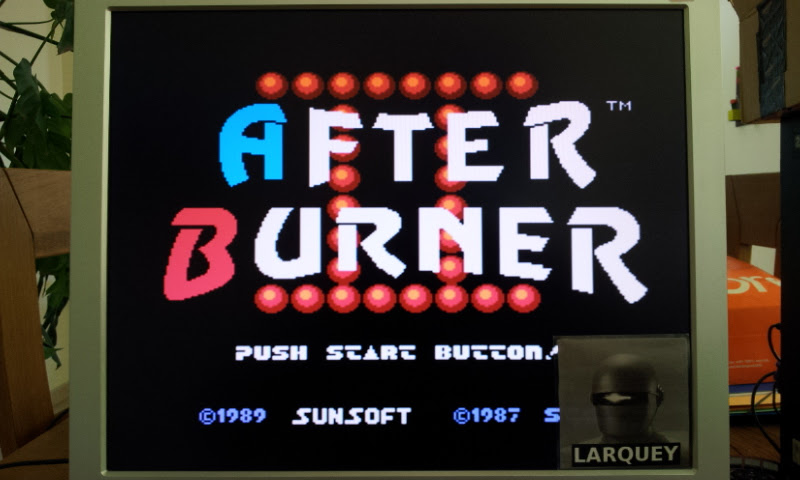 Larquey: After Burner II (NES/Famicom Emulated) 1,096,750 points on 2017-04-21 09:45:14