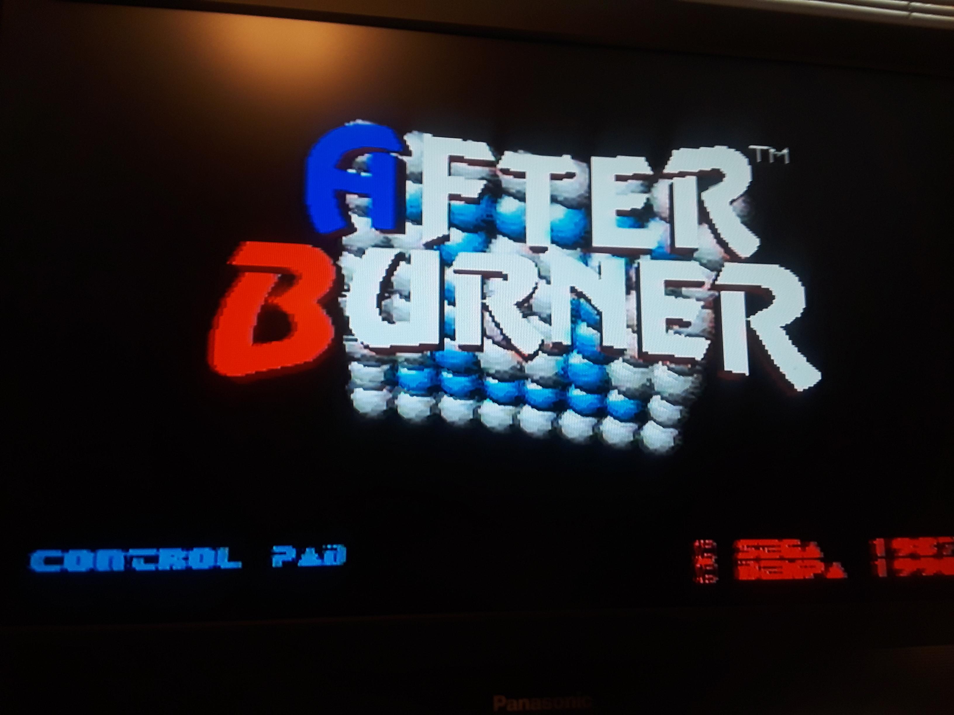 JML101582: After Burner II (Sega Genesis / MegaDrive Emulated) 712,320 points on 2019-04-20 18:20:45