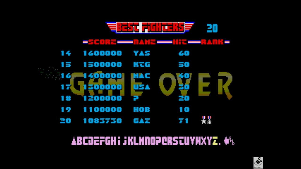 gazzhally: After Burner [Sega 32X] (Sega Genesis / MegaDrive Emulated) 1,083,730 points on 2019-05-29 16:10:27