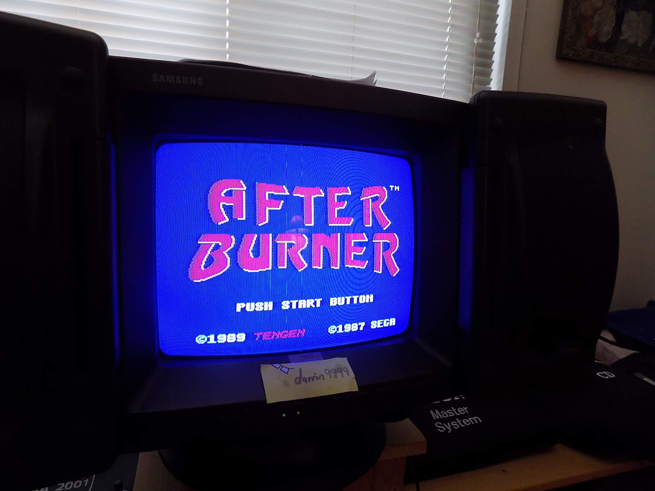 darrin9999: After Burner [USA] (NES/Famicom) 1,161,460 points on 2018-01-20 12:01:29