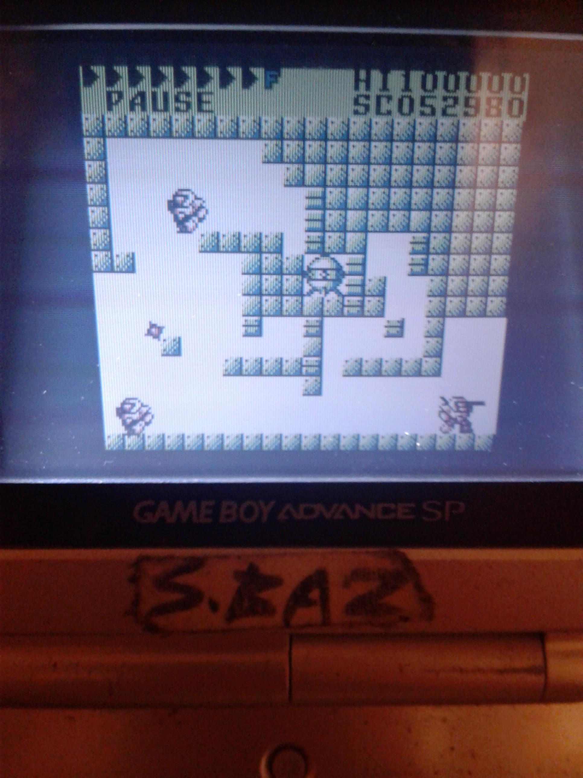 S.BAZ: After Burst [Normal] (Game Boy) 52,980 points on 2021-04-20 13:42:03
