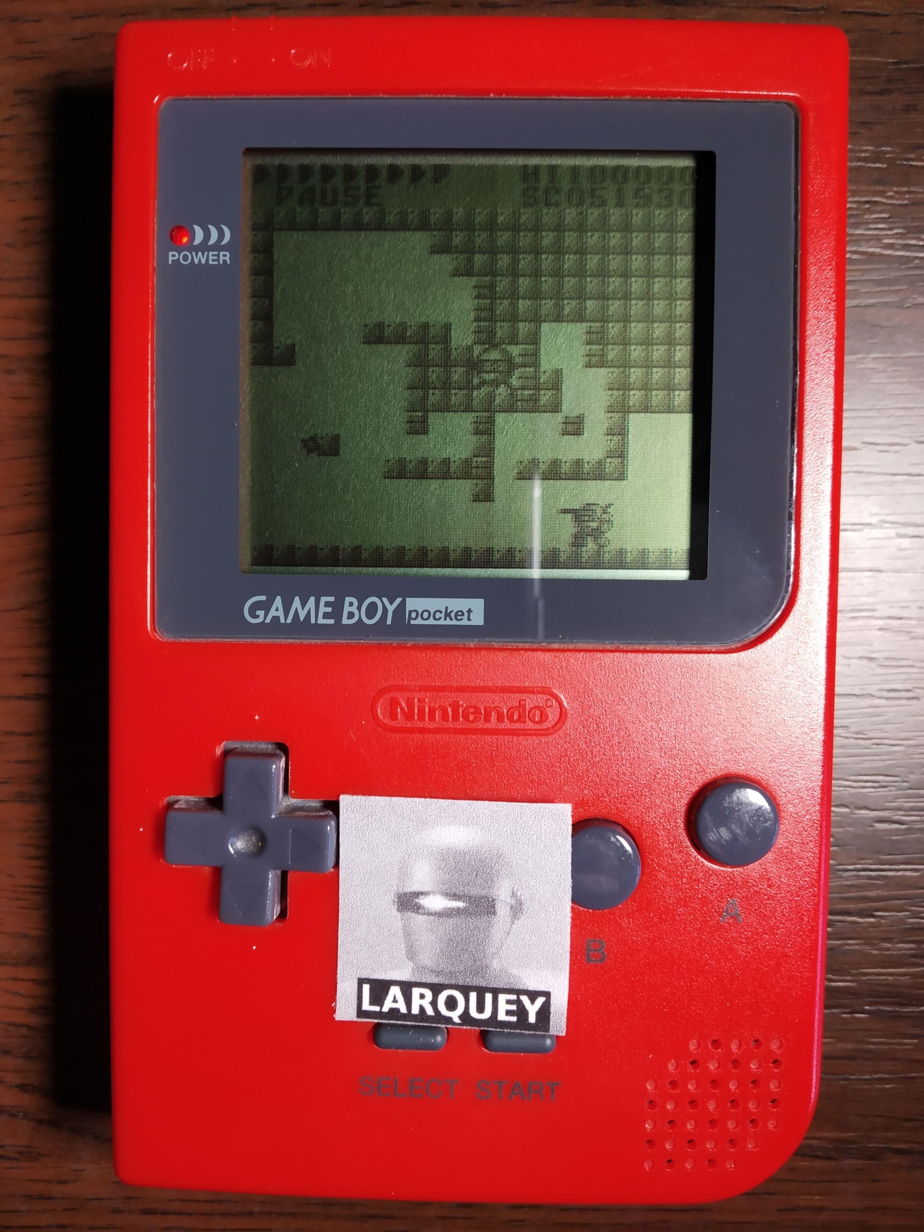 Larquey: After Burst [Normal] (Game Boy) 51,930 points on 2019-11-24 08:02:05
