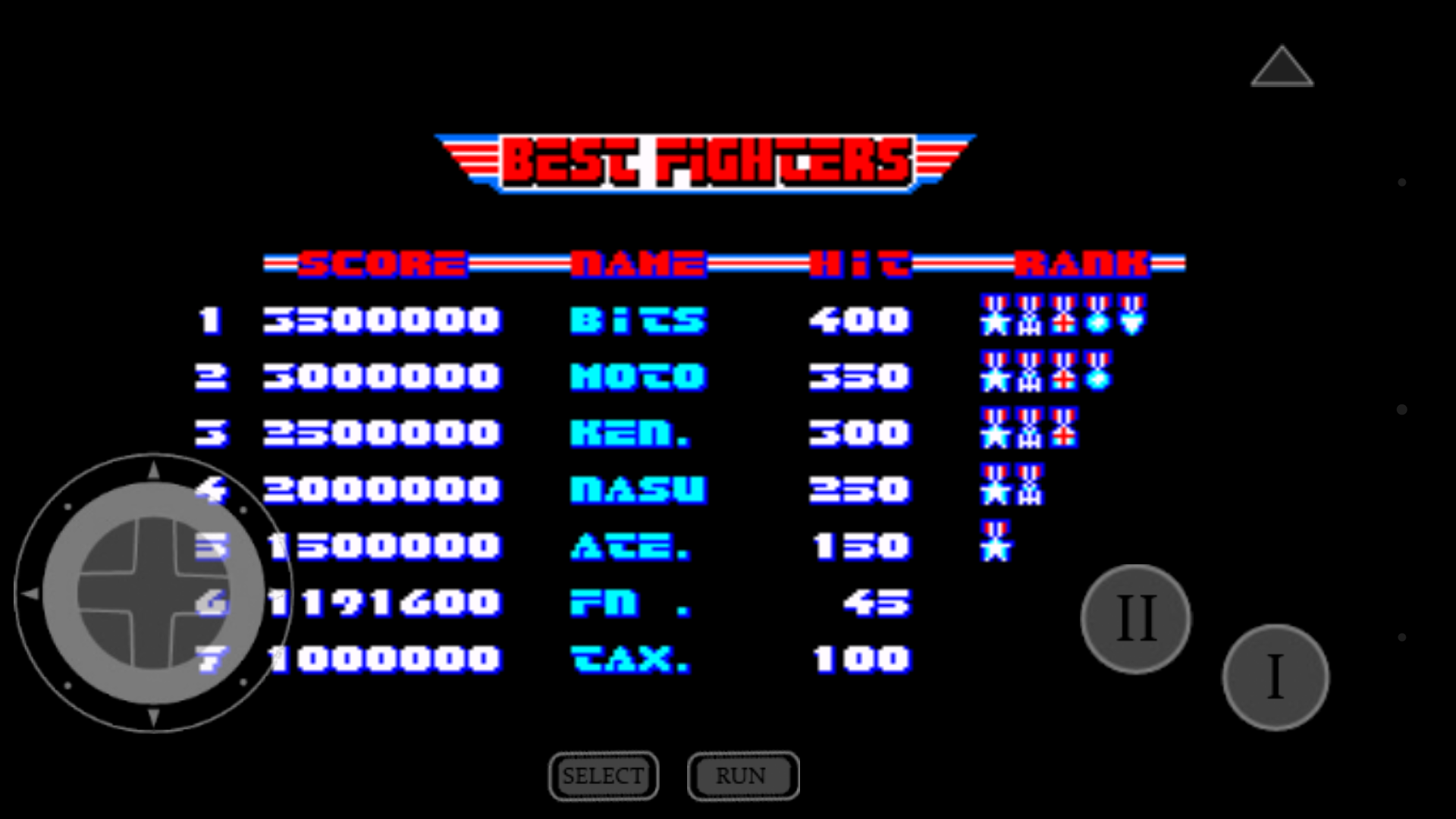 mechafatnick: Afterburner II (TurboGrafx-16/PC Engine Emulated) 1,191,600 points on 2016-04-05 00:09:44