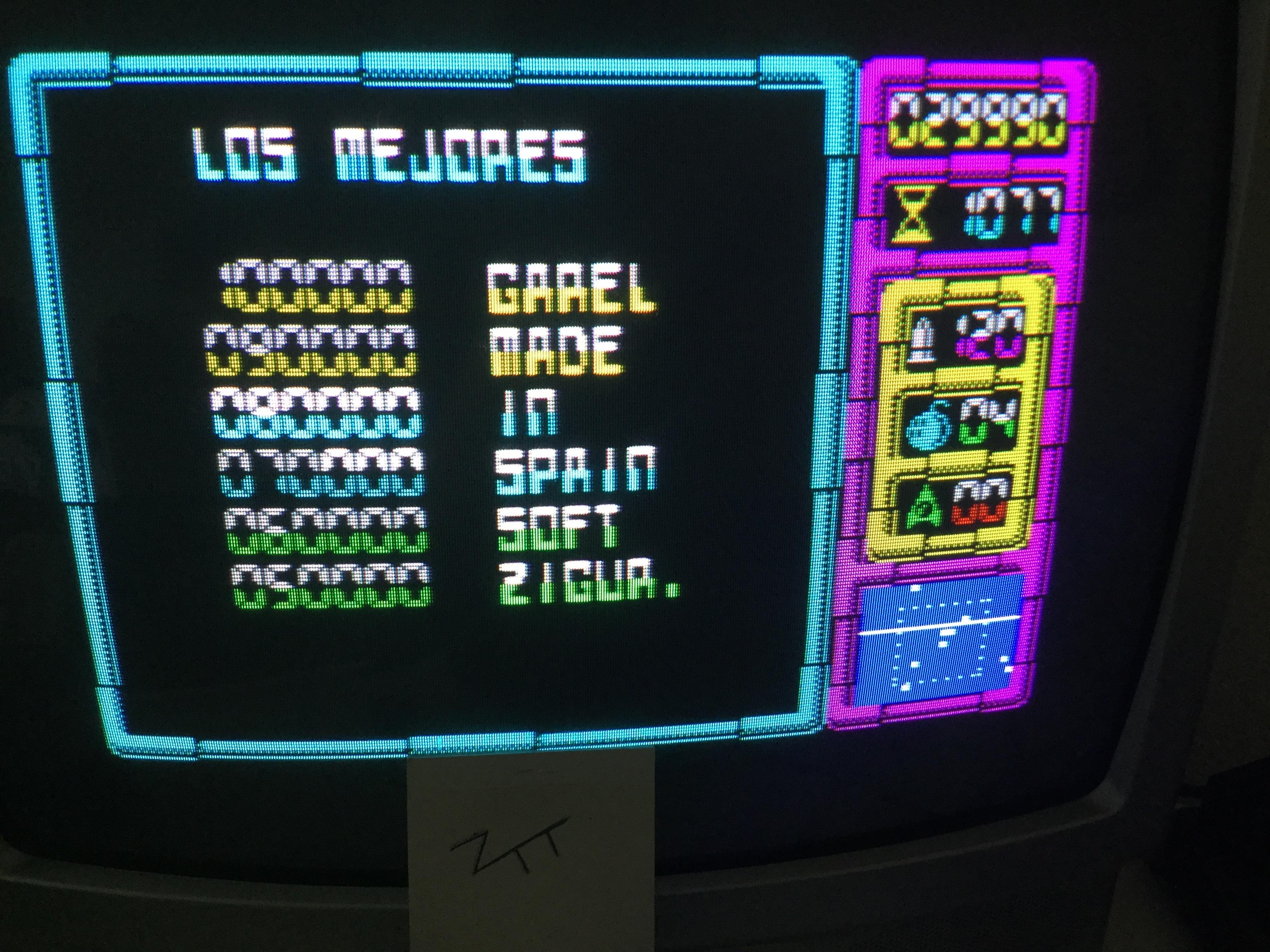 Frankie: Afteroids (ZX Spectrum) 29,990 points on 2017-06-04 05:51:43