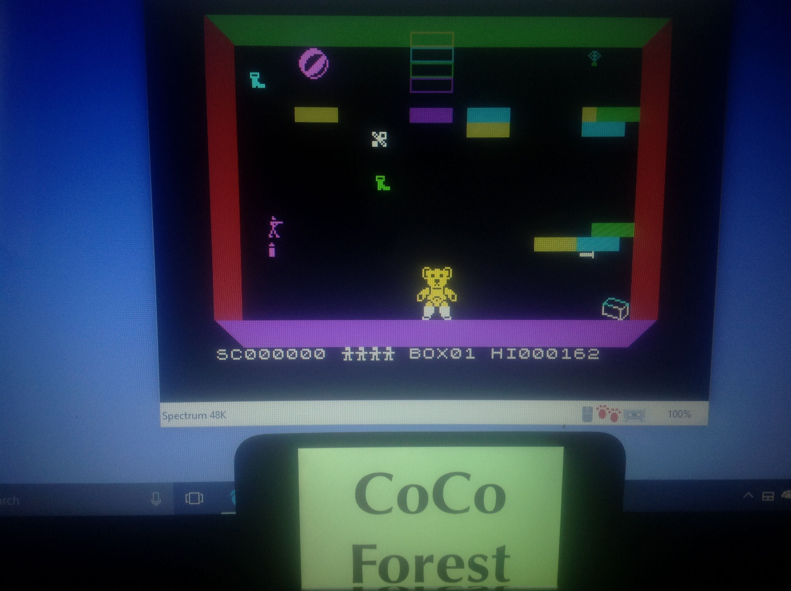 CoCoForest: Ah Diddums (ZX Spectrum Emulated) 162 points on 2018-01-20 08:31:18