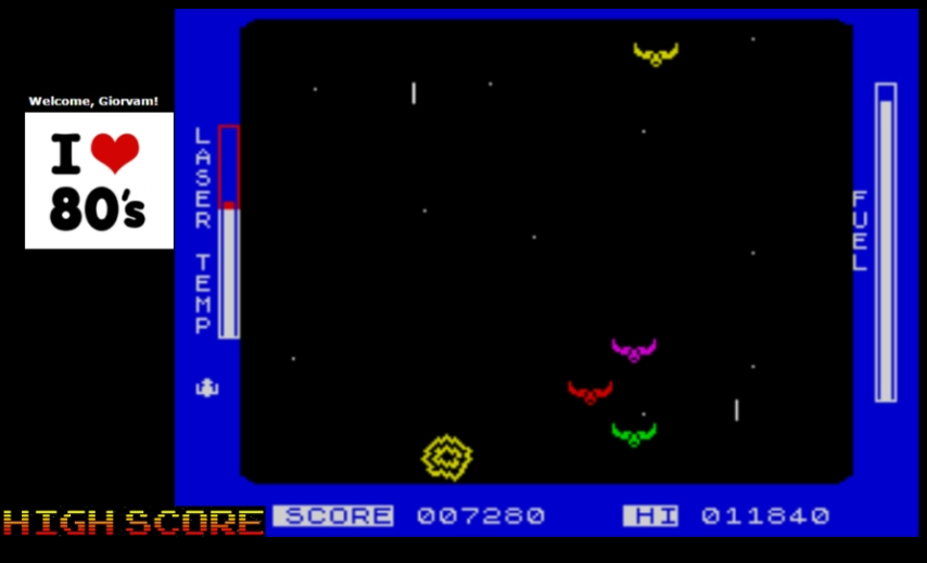 Giorvam: Ahhh!! (ZX Spectrum Emulated) 7,280 points on 2016-12-06 10:50:05