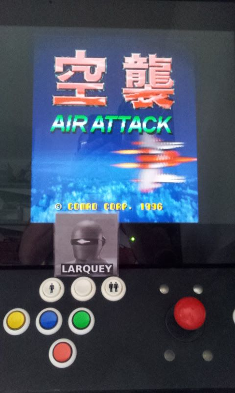 Larquey: Air Attack (Jamma Pandora