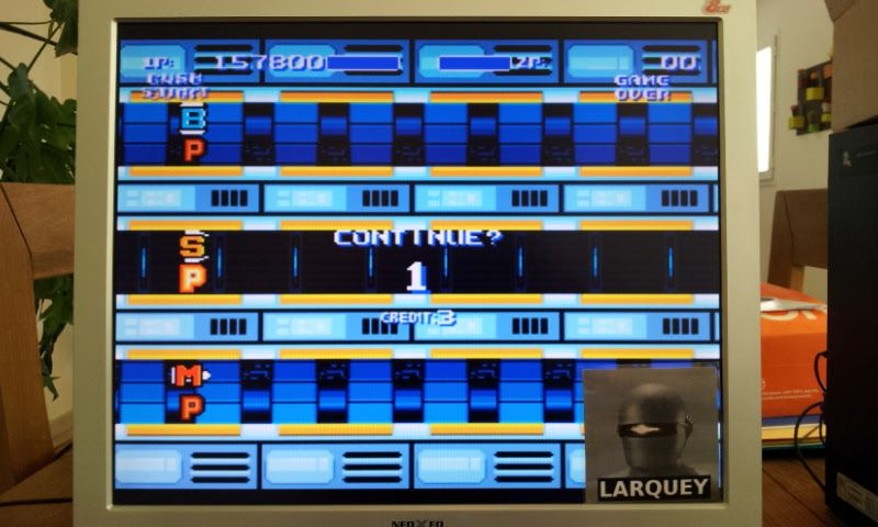 Larquey: Air Buster [Hard] (Sega Genesis / MegaDrive Emulated) 157,800 points on 2017-04-23 05:38:43