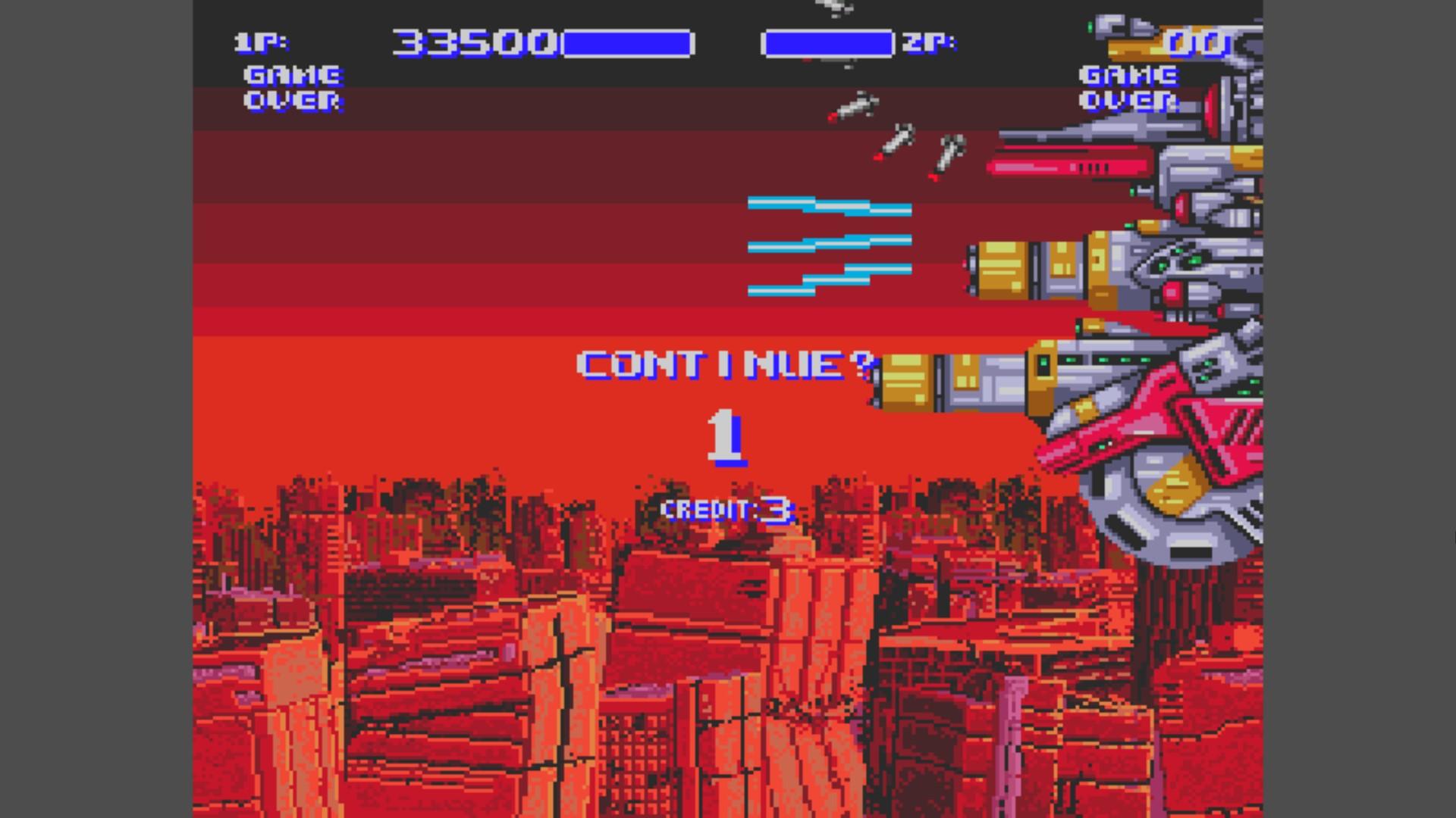 AkinNahtanoj: Air Buster (Sega Genesis / MegaDrive) 33,500 points on 2020-10-31 05:50:51