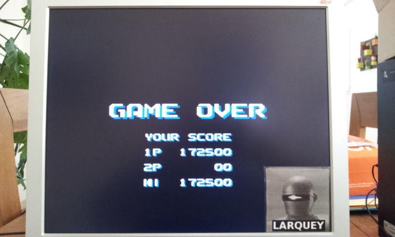 Larquey: Air Buster (Sega Genesis / MegaDrive Emulated) 172,500 points on 2017-04-23 05:44:09