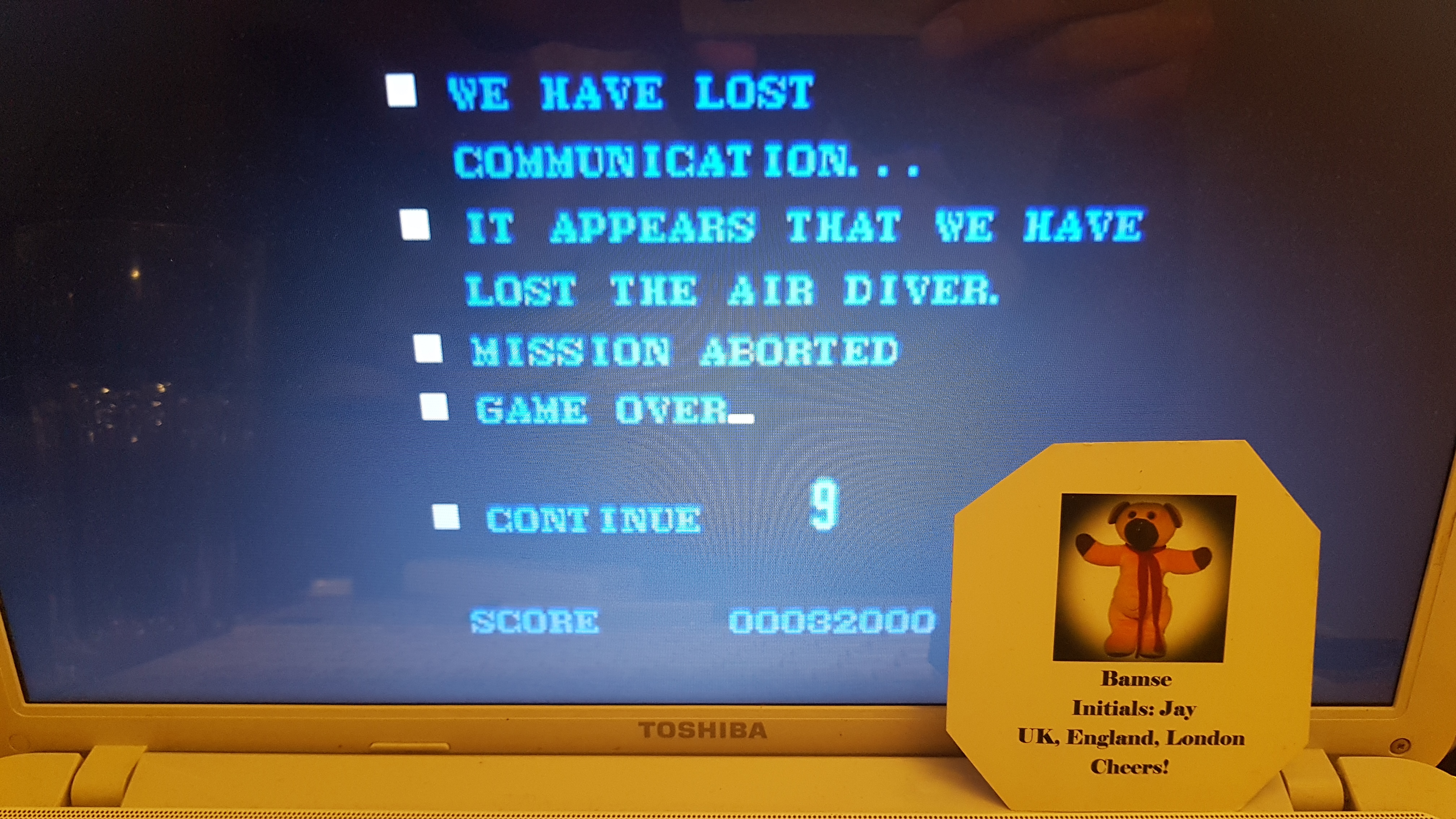 Air Diver [Easy] [Five Lives] 32,000 points