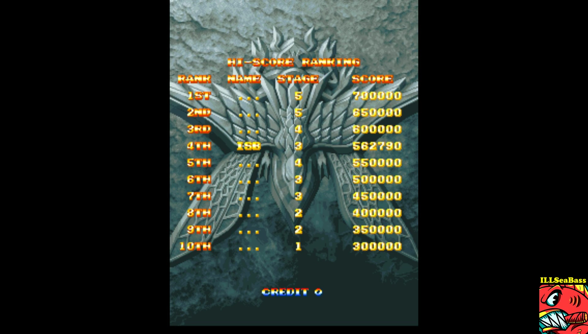 ILLSeaBass: Air Gallet [agallet] (Arcade Emulated / M.A.M.E.) 562,790 points on 2017-07-15 20:17:09