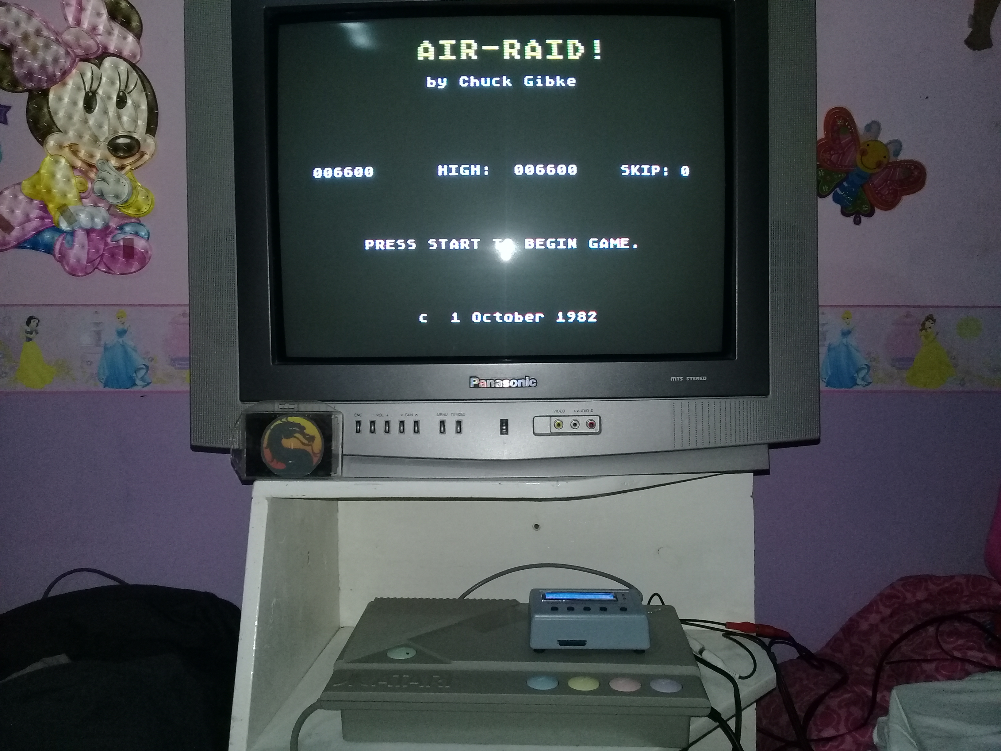 omargeddon: Air Raid! (Atari 400/800/XL/XE) 6,600 points on 2020-01-05 21:27:31