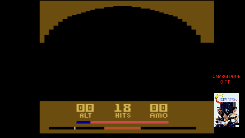 omargeddon: Air Raiders (Atari 2600 Emulated Expert/A Mode) 18 points on 2017-09-30 18:39:41